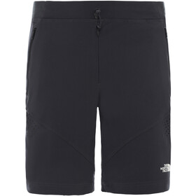 The North Face Impendor Alpine Shorts Herren asphalt grey/tnf black